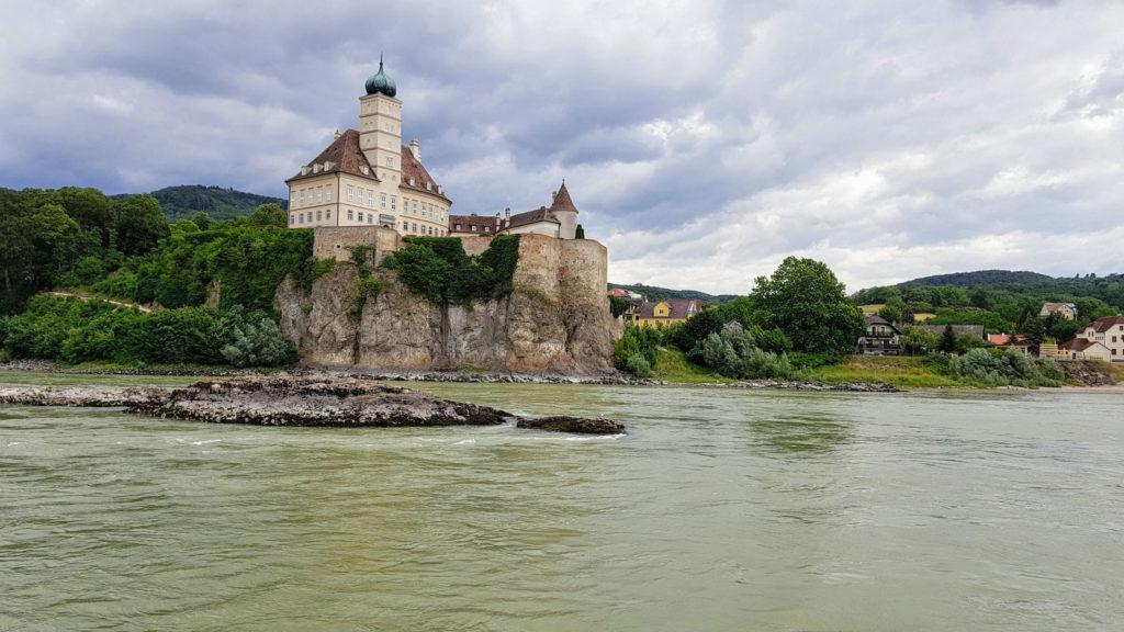Le château Schloss Schönbühel près de Melk