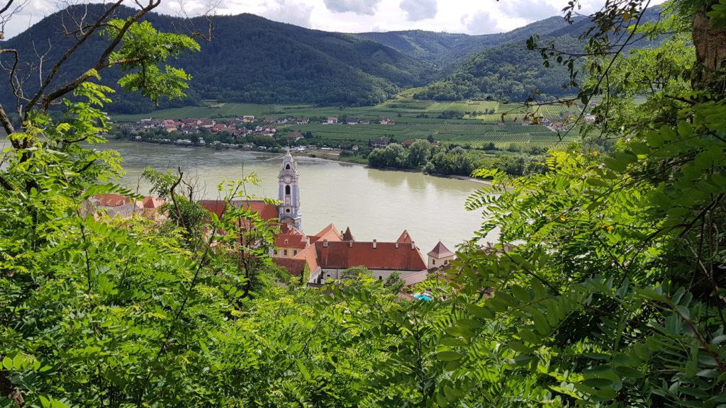 Le village de Dürnstein en Autriche