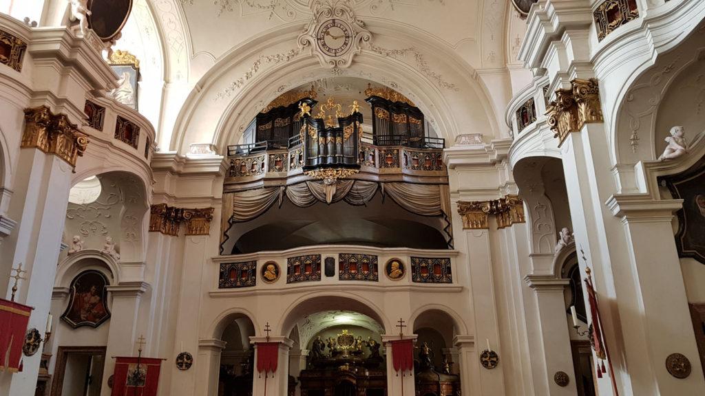 L'abbaye de Dürnstein en Autriche