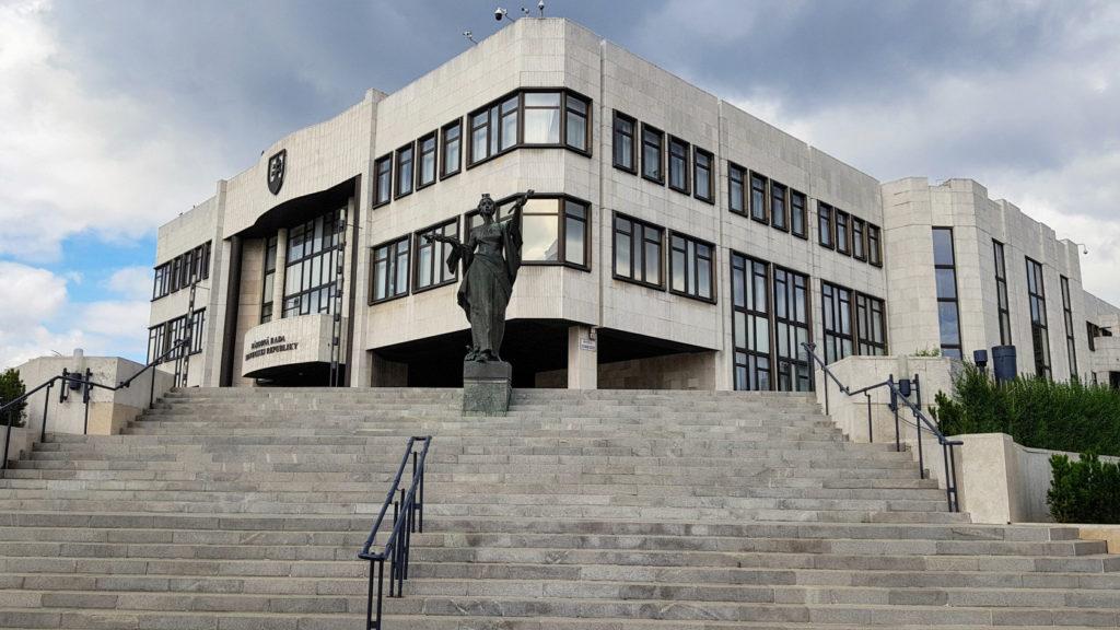 Le Parlement de Slovaquie à Bratislava