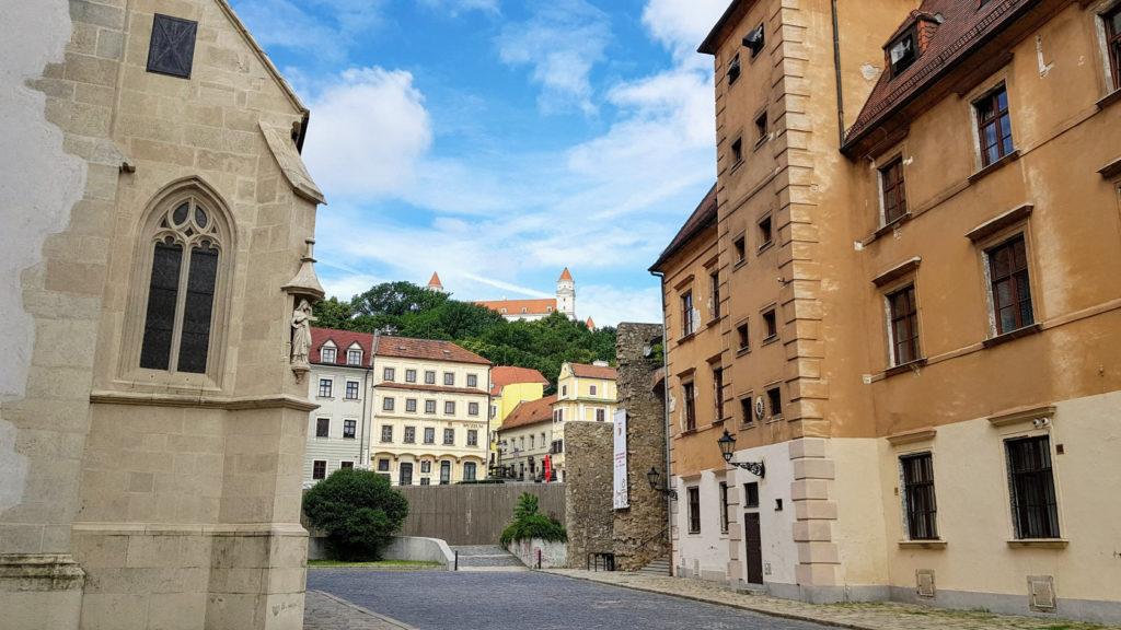 Visite de la ville de Bratislava en Slovaquie