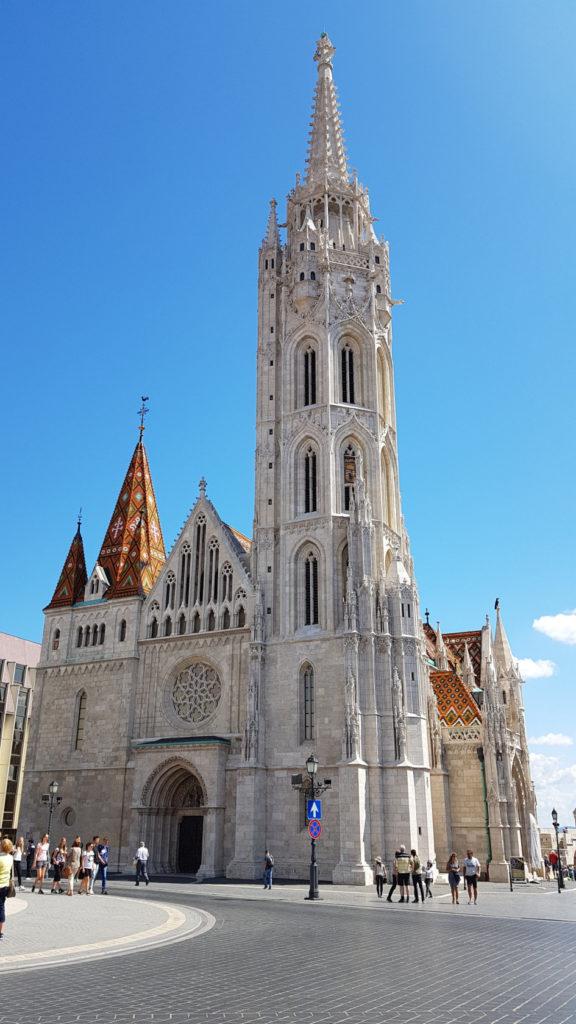 Visite de la ville de Budapest en Hongrie - Église Notre-Dame-de-l'Assomption
