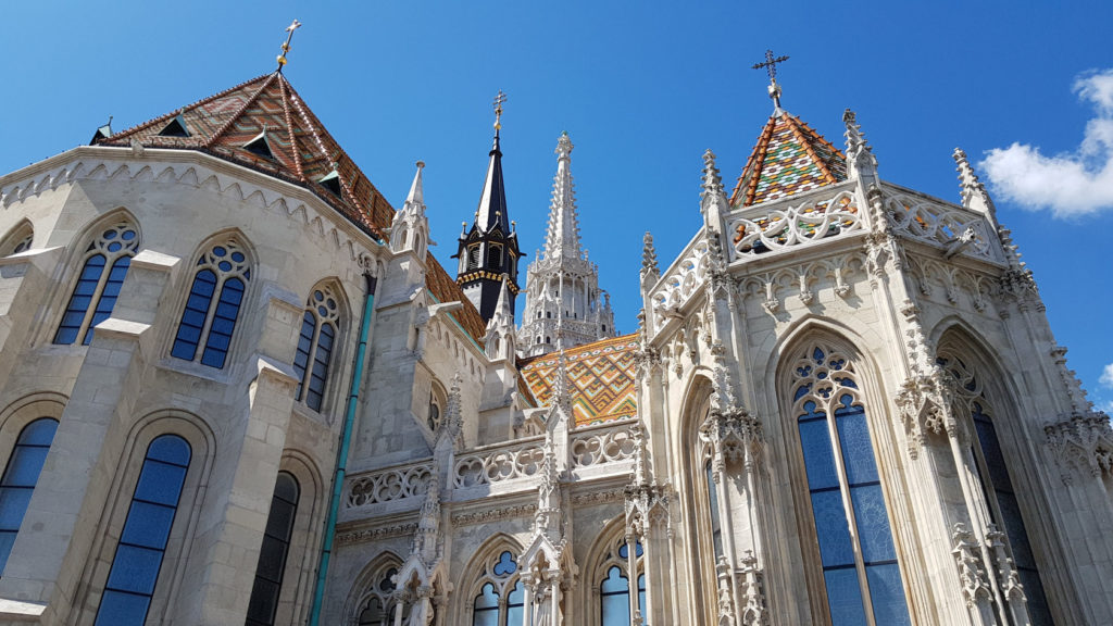 Visite de la ville de Budapest en Hongrie