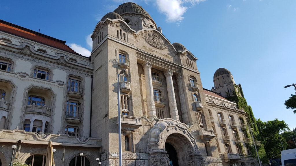 Hôtel Gellert à Budapest en Hongrie