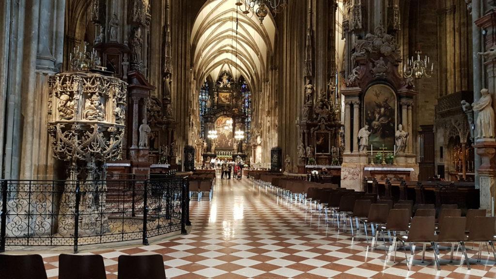 Visite de la ville de Vienne - Cathédrale Saint-Étienne
