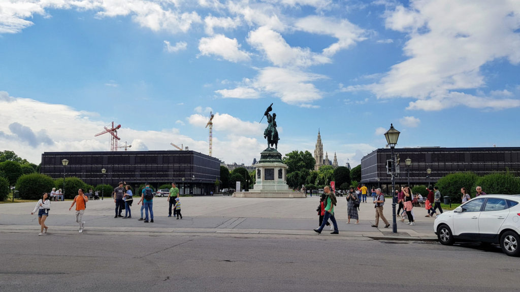 Visite de la ville de Vienne - Hofburg