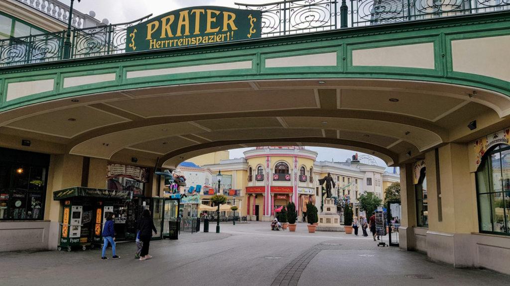 Visite de la ville de Vienne - Parc d'attractions Prater